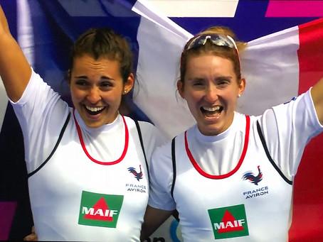 Elodie Ravera-Scaramozzino et Hélène Lefebvre parmi les très grandes.