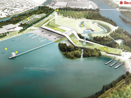EXCLUSIF 1 avril : Changement de plan d'eau olympique #Paris2024