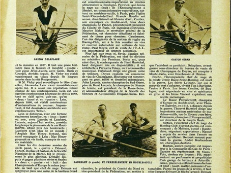 Miroir des Sports 14 octobre 1925-Ce que sont devenus les anciens champions