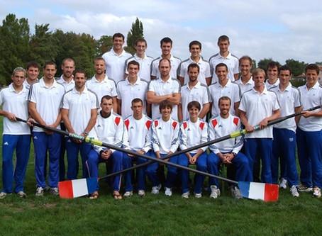 L'Equipe de France 2010 à Karapiro (NZ)