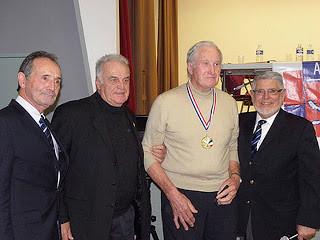 Jacques Morel, grande médaille d'or de la FFA