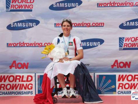 Nathalie Benoit, remotivée par la Semaine Olympique