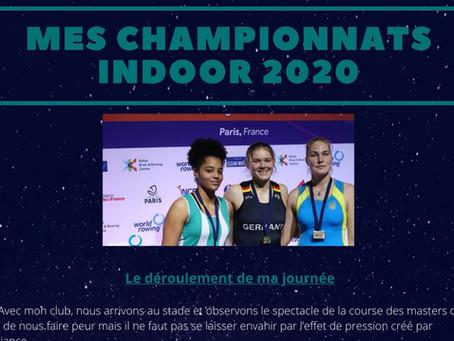 Mondiaux Indoor 2020, Lou-Anne Caniard, boursière AIA 2019, témoigne.