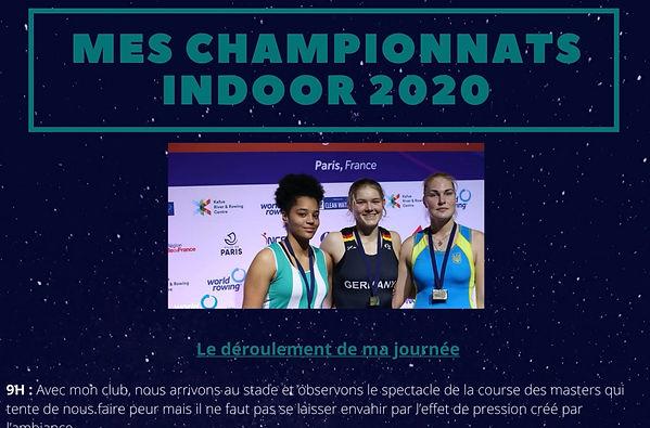 Lou-Anne Caniard vice-championne du Monde Indoor 2020