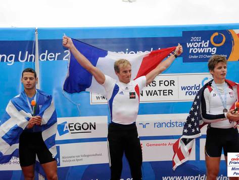 Championnat du Monde -23 ans, 5 médailles