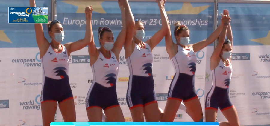 4+W-Championnes d'Europe U23