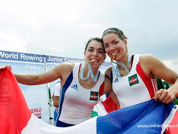 Un été 2010 couvert de médailles pour les Equipes de France d'Aviron