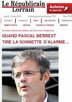 2010-Quand Pascal Berrest tire la sonnette...