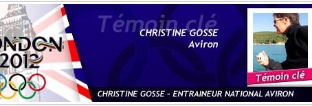 JO 2012-Interview de Christine Gossé