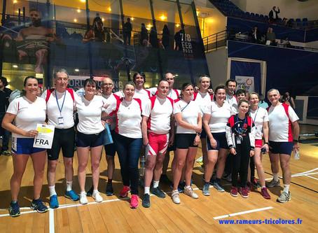 Défi Rameurs Tricolores réussi aux Mondiaux Indoor 2020