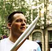 Relais de la flamme Olympique 2004 par Bertrand Haas