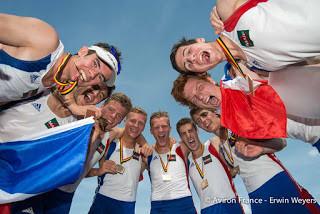 21 équipages médaillés en 2014, c'est plutôt bien, non ?