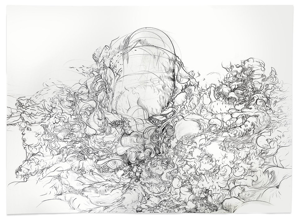 Adrian Rast, Kunst, zeitgenössische Zeichnung, Zeichnung, Kunst, Peter Licht, Bleistiftzeichnung