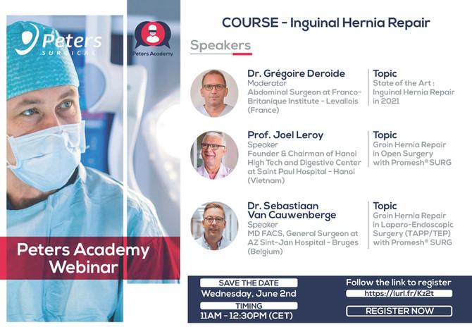 Chirurgie De la Hernie Inguinale ( Inguinal Hernia Repair )