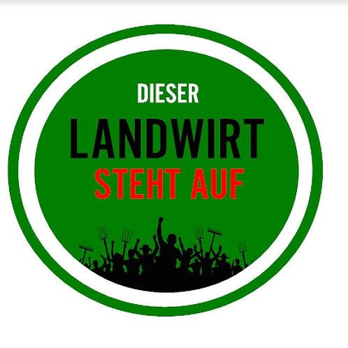 DIESER LANDWIRT STEHT AUF ...AUFKLEBER