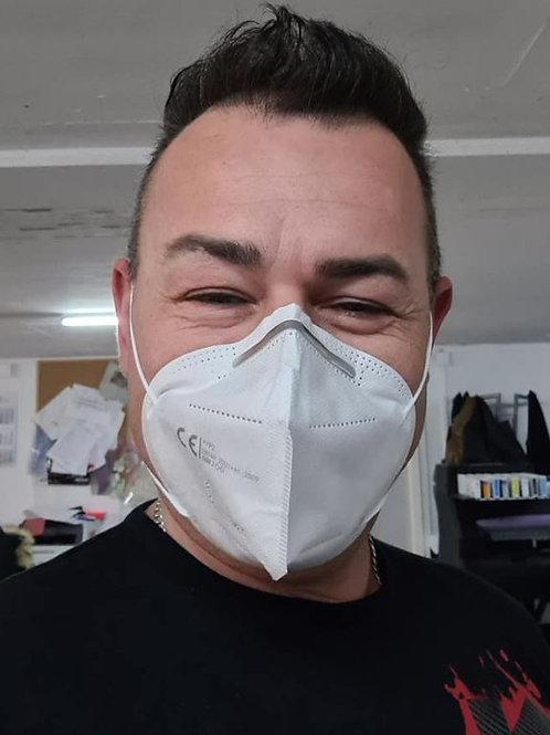 FFP2 Gesichtsmaske mehr Schutz braucht kein Gesicht