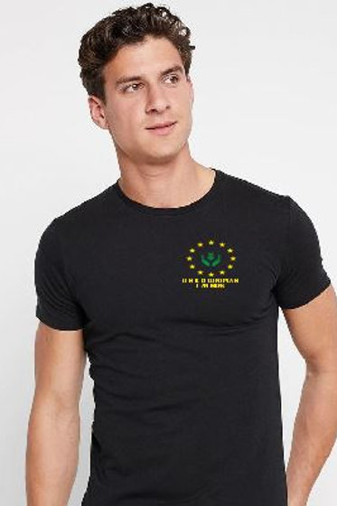 UNITED FARMERS HERRENSHIRT  DRUCK VORN