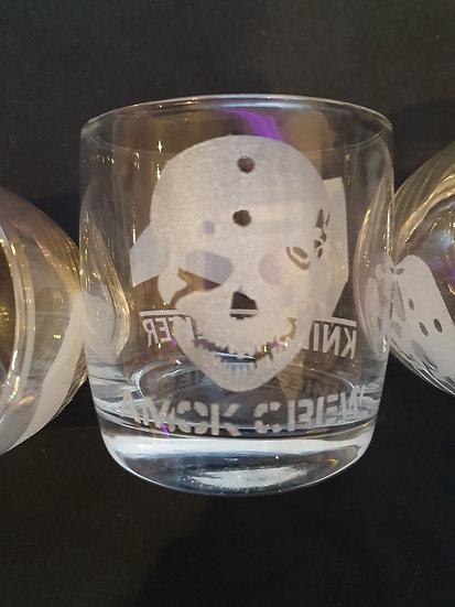 AMOKCREW SKULL GLAS