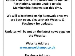 Membership Renewals