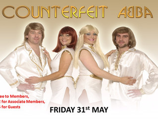 ABBA Tribute is now on Fri 31st May