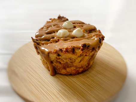 BISCOFF APPLE OAT CAKES - High Protein Treats for Afternoon Tea Week!