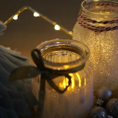 HOLLY JOLLY WEDNESDAYS - Snowy Mason Jars & Jade's Triple Hot Chocolate Orange