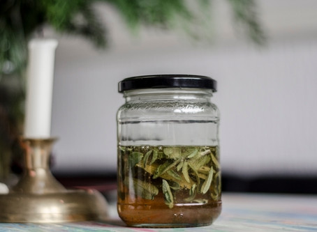 Home Made Soothing Cough Syrup