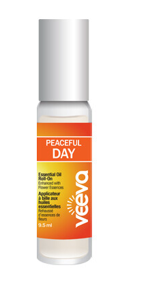 Aromatherapy Roll-On, enhanced with flower essences - Peaceful DAY
