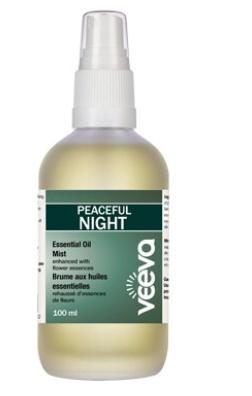Essential Oil Mist, enhanced with flower essences - Peaceful NIGHT