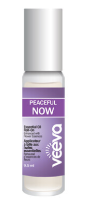 Aromatherapy Roll-On, enhanced with flower essences - Peaceful NOW