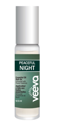 Aromatherapy Roll-On, enhanced with flower essences - Peaceful NIGHT