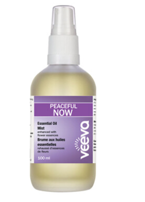 Essential Oil Mist, enhanced with flower essences - Peaceful NOW