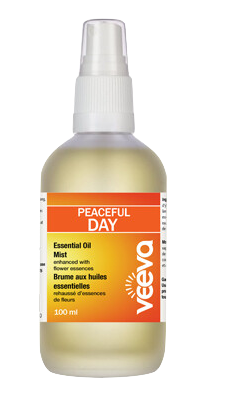 Essential Oil Mist, enhanced with flower essences - Peaceful DAY