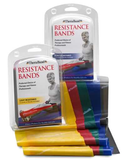 TheraBand Resistance Bands - Pack