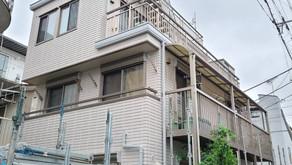 1.東京都練馬区S様邸 足場解体工事