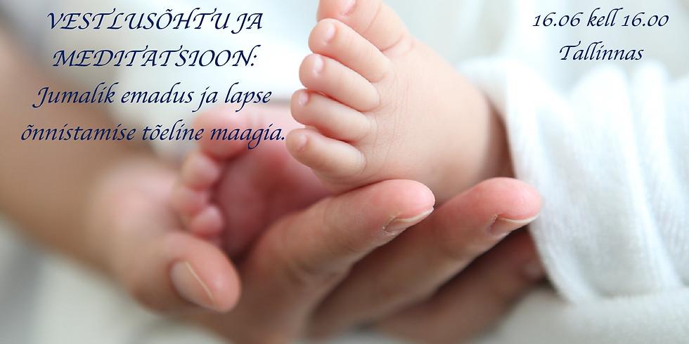 NAISTE-ERI: Jumalik emadus ning lapse õnnistamise tõeline maagia.