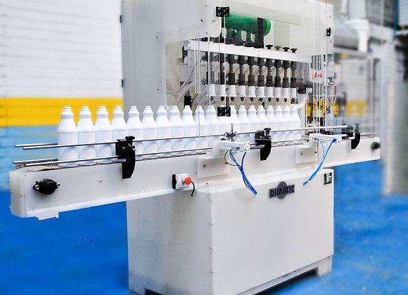 Máquina llenadora de cloro
