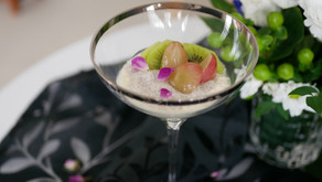 Super beauty parfait with vegan cottage cheese and chia seeds / ヴィーガンカッテージチーズとチアシードのパフェ
