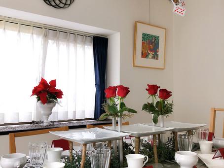 テーブル&料理教室 12月テーブルサロン