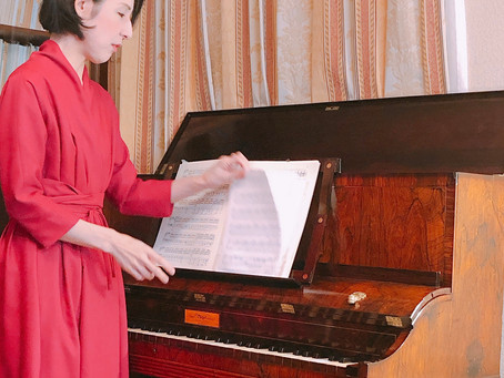 ピアノコンサートでケータリング