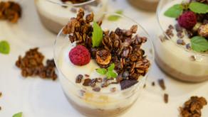 Coffee cream parfait (vegan & GF) / コーヒークリームパフェ (ヴィーガン&グルテンフリー)