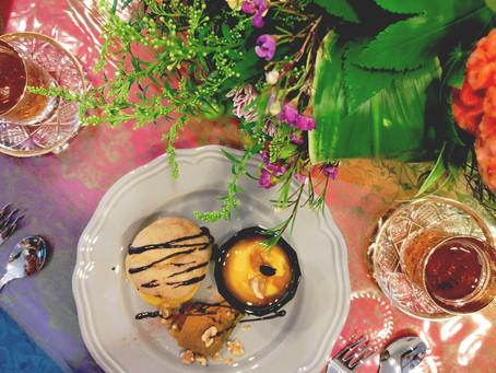 テーブル&料理教室 10月レッスン