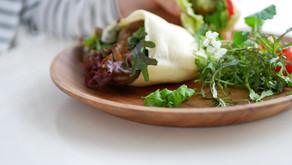 """YouTube recipe """"Vegan pita sandwich with falafels (no knead)"""" / """"ヴィーガン ファラフェルのピタパンサンドイッチ(こねなしパン)"""""""