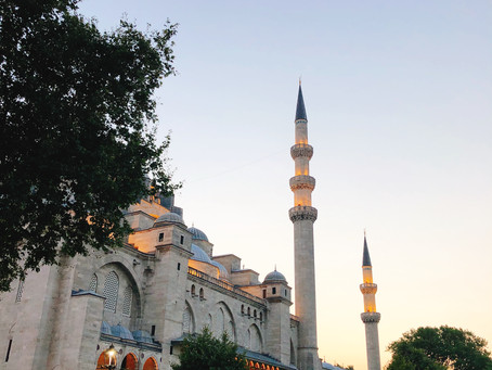 Istanbulへの旅 そしてお茶会 その1