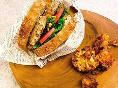 Sandwich_-_-_-_#instafood #vegan #health