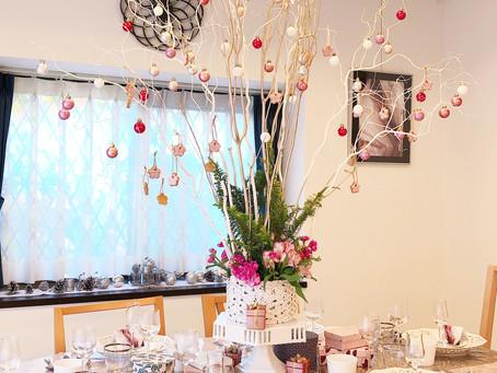 テーブル&料理教室 12月レッスン