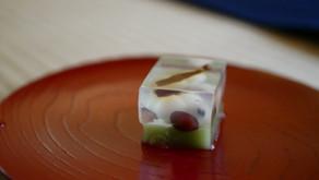"""Japanese sweets 3 Kingyokukan in summer (agar sweets) / ヴィーガン和菓子3 夏の錦玉羹"""