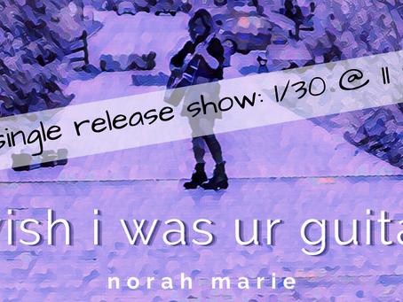 Single Release Show!!!!! 1/30 @ 11 pm