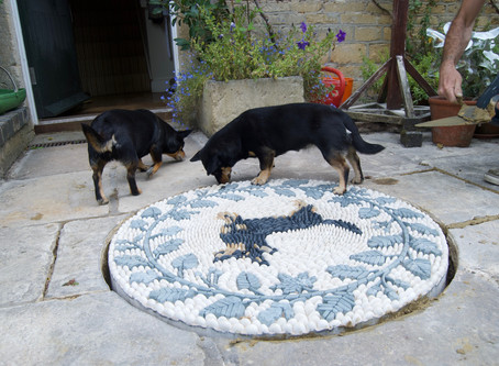 """The """"Pawfect"""" Mosaic"""
