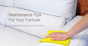 Maintenance tips for your furniture